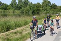 Balade en vélo dazns la Dombes