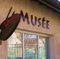 Entrée du musée louis Jourdan à Saint Paul de Varax dans la Dombes